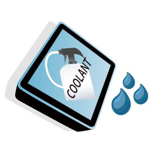 Para aumentar el rendimiento de trabajo, es necesario un dispositivo de agua refrigerante.