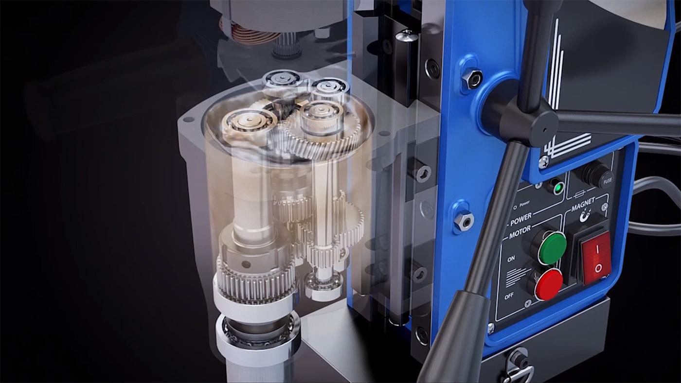 Oil Bathed Gear Box - 3keego Cutting Tools