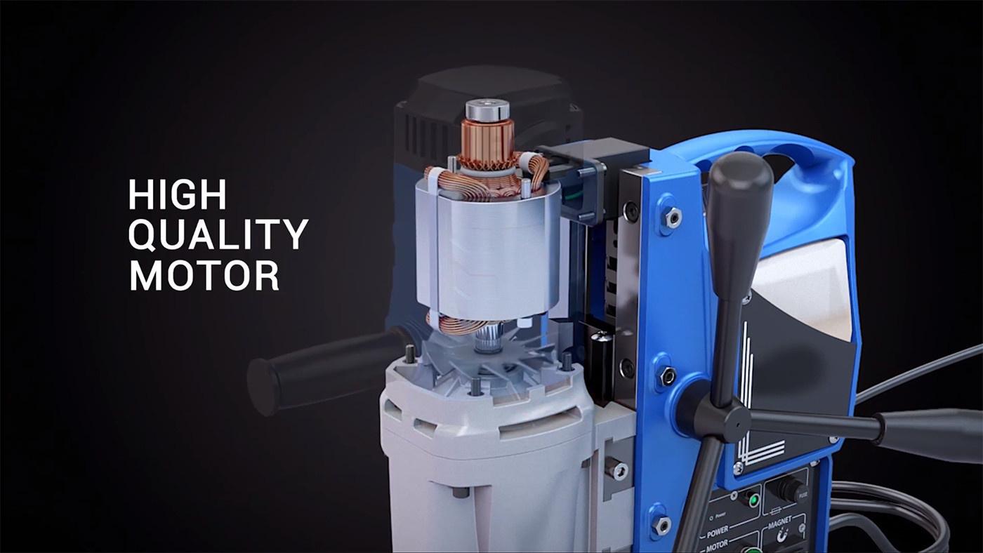 Powerful Motor - 3keego Cutting Tools