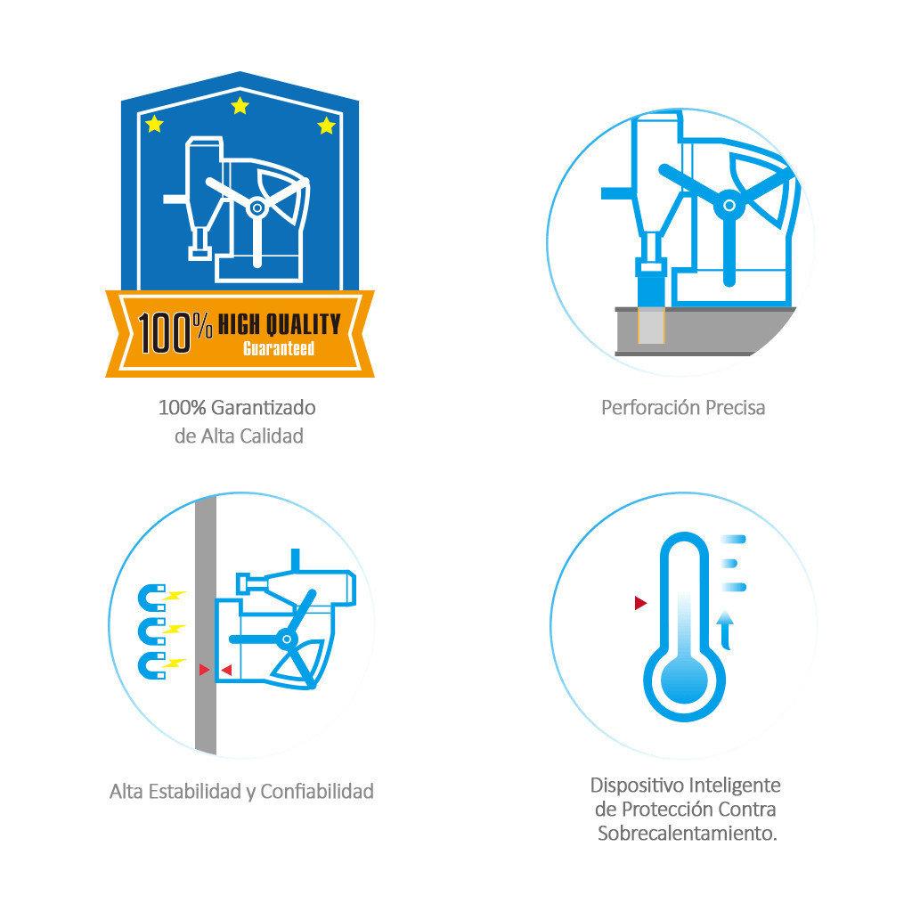 Alta Calidad de Aplicaciones Profesionales de máquinas de perforación magnética
