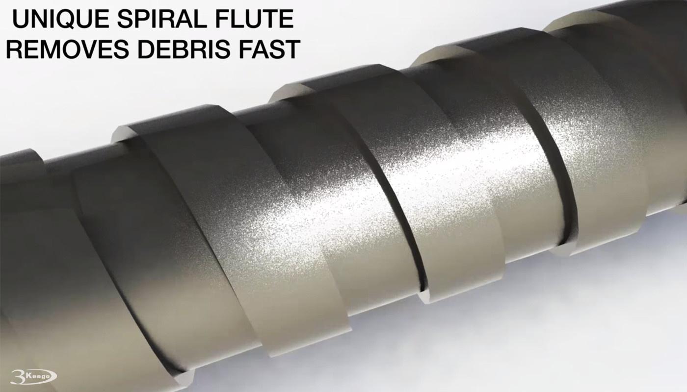 Wide Flute of rebar cutter