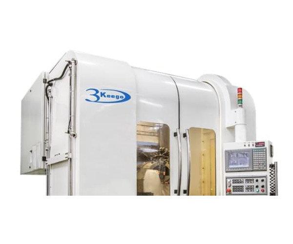 3keego fabricó sus propias máquinas CNC de 5 ejes de Alta Calidad con alta precisión.