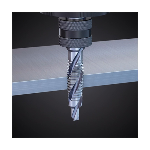 Drill and Tap a Screw Hole in Sheet Metal in One Step (With Video)