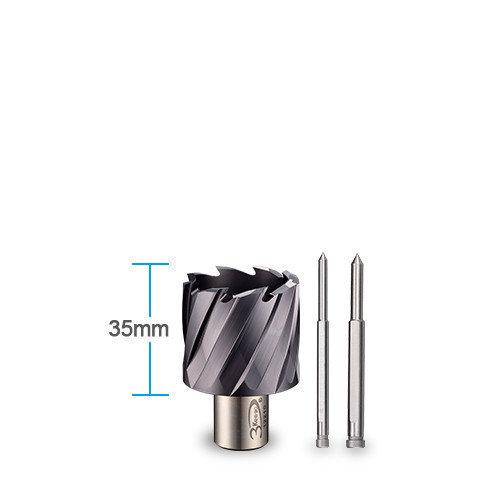 3keego HSS annular cutter Tia coated SHCO 30 type