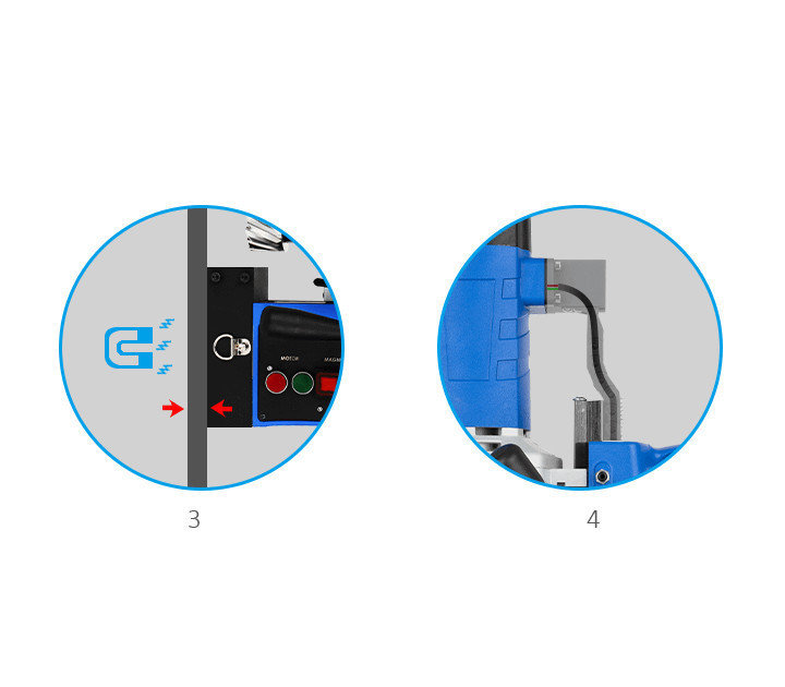3keego magnetic drilling machine SMD35B highlight 2.