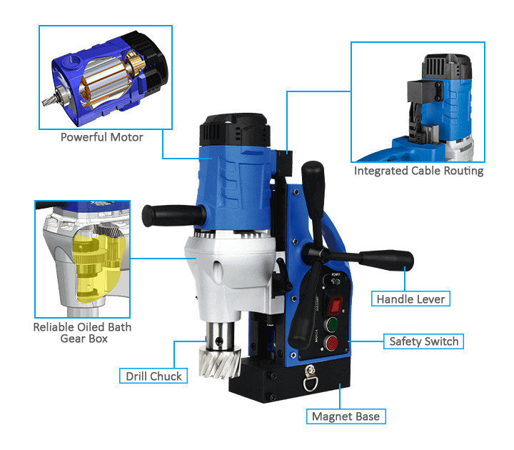 3keego magnetic drilling machine SMD30 power and durability.