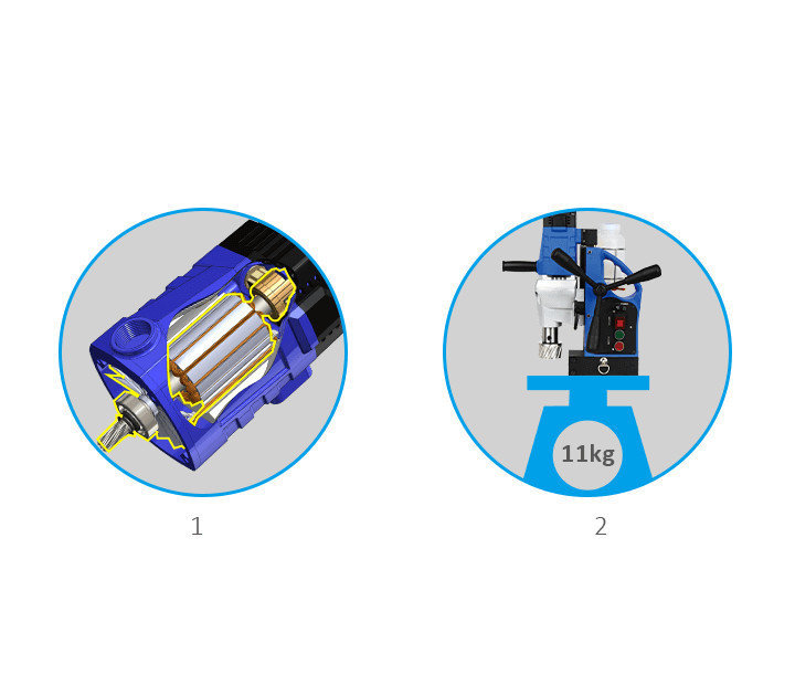 3keego magnetic drilling machine SMD30 highlight 1.