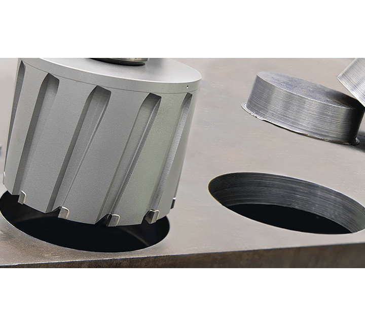 3keego annular cutter HCL is ideal for large holes.