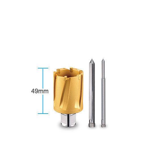 3keego annular cutter HC Tin coated 35 type